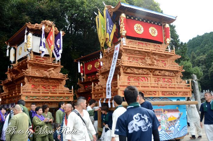 加加茂神社秋祭り 若葉町だんじり(屋台)
