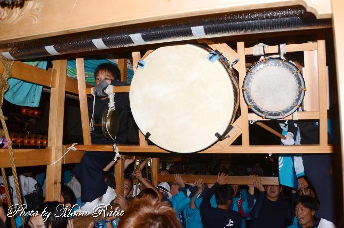 太鼓 締太鼓 鉦 尾土居屋台(だんじり) 祭り太鼓