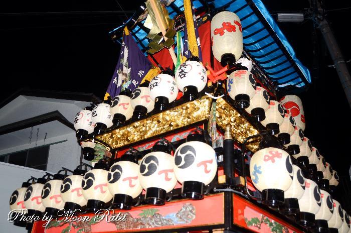 新町屋台(だんじり) 祭り提灯