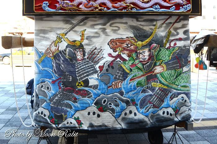 土台幕 下小川屋台(だんじり) 西条祭り