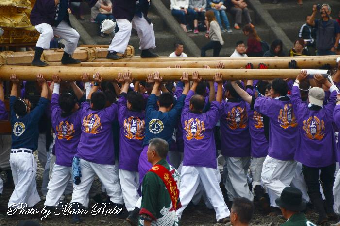 上組太鼓台 祭り装束