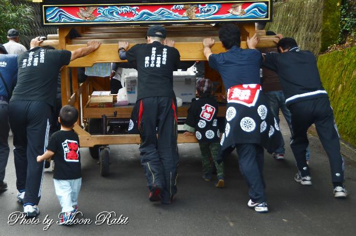 中野だんじり(屋台) 祭り装束