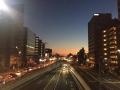蒲田の夕暮れ