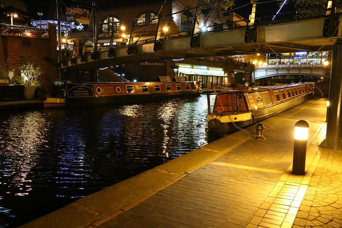 運河夜景2