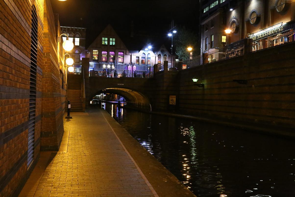運河夜景4