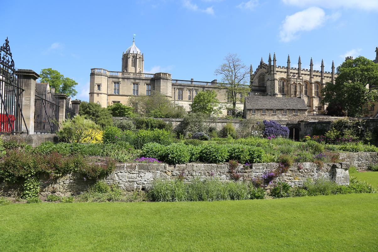 オックスフォード 庭5
