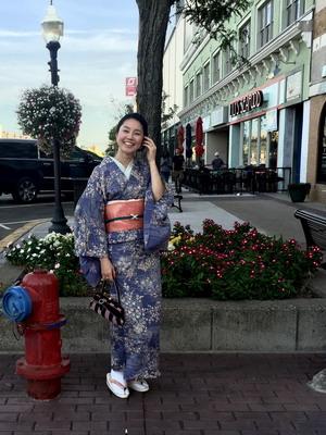 kimono dinner
