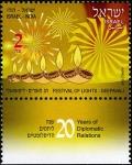 イスラエル・インドとの国交20年