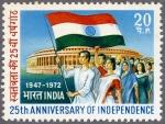 インド・独立25年