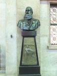 ドン・ペドロ2世像(リオ中央駅)