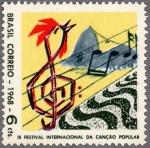 ブラジル・第3回国際フォークソング・フェスティヴァル
