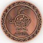 南寧展メダル・裏
