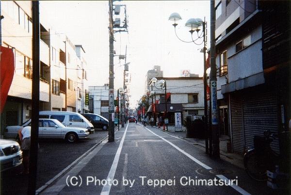 亀有本通り商店街1998