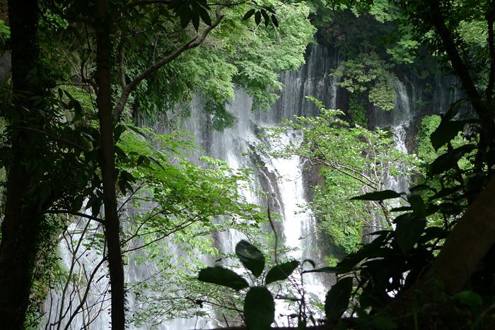 白糸の滝  駿河の神社巡りの後 1