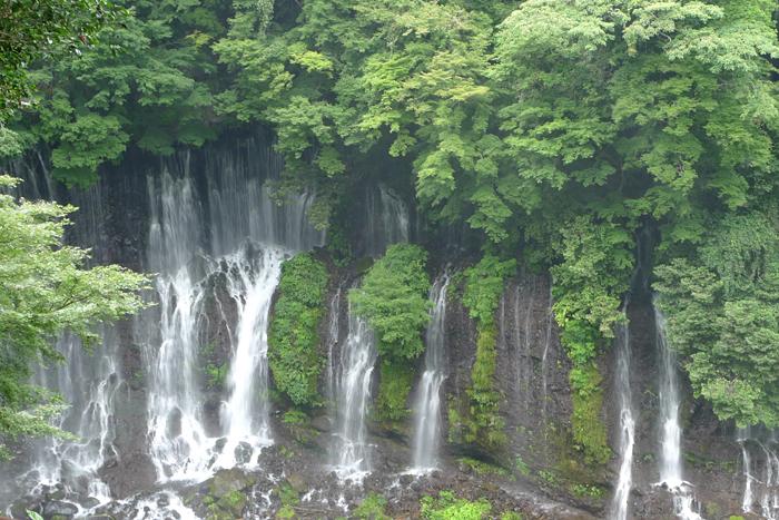 白糸の滝  駿河の神社巡りの後 2