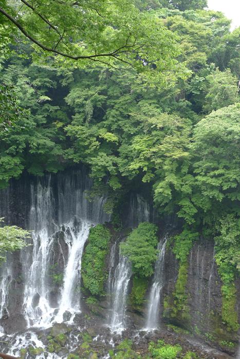 白糸の滝  駿河の神社巡りの後 3