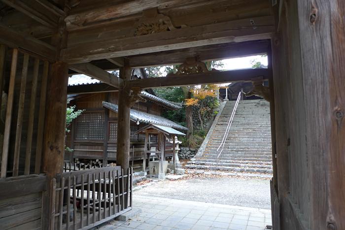 伊豫國の神社  國津比古命神社、櫛玉比賣命神社  10