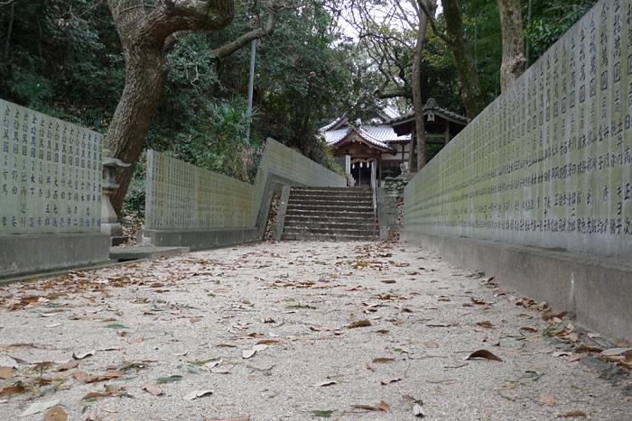 伊豫國の神社  國津比古命神社、櫛玉比賣命神社  22