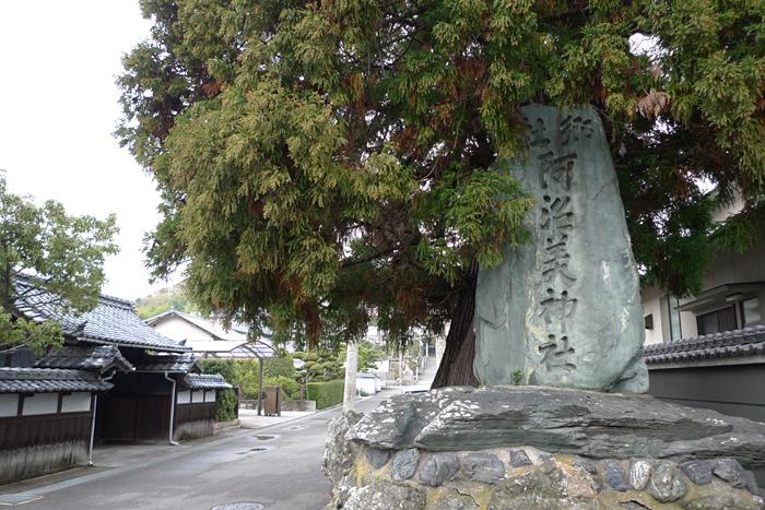 伊豫國の神社  阿沼美神社  1