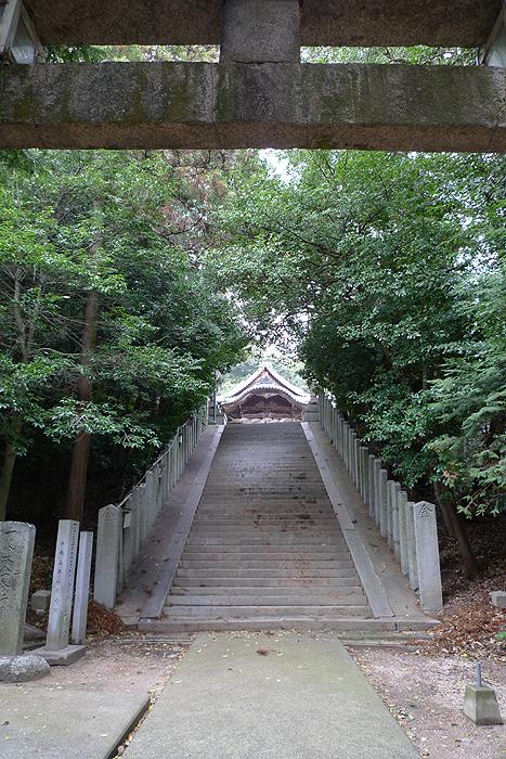 伊豫國の神社  阿沼美神社  5