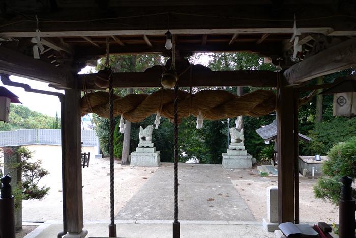 伊豫國の神社  阿沼美神社  16