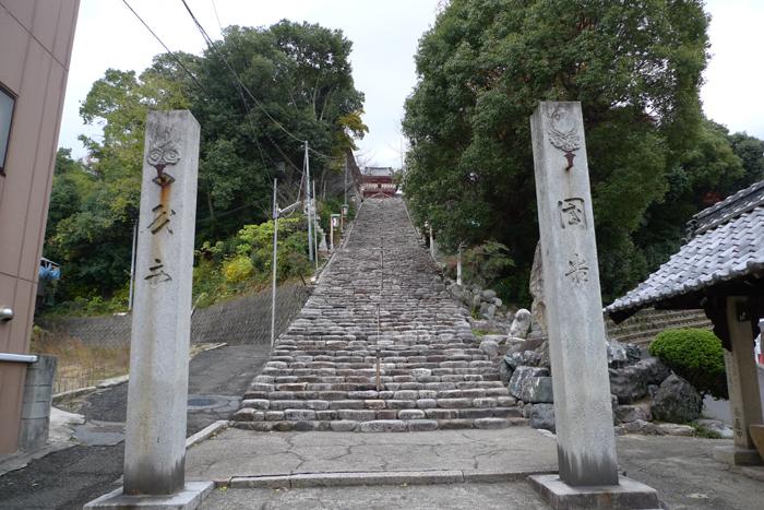 伊豫國の神社  伊佐爾波神社  1