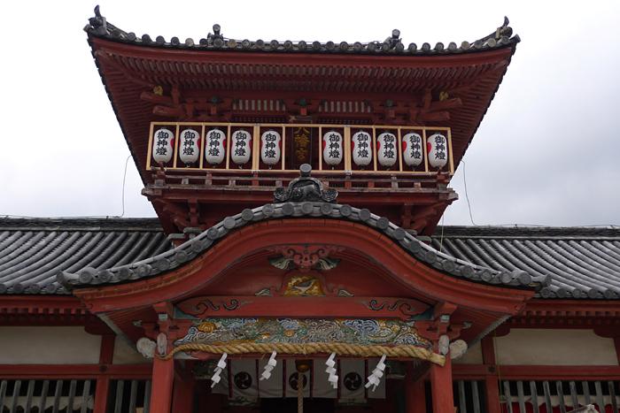 伊豫國の神社  伊佐爾波神社  8