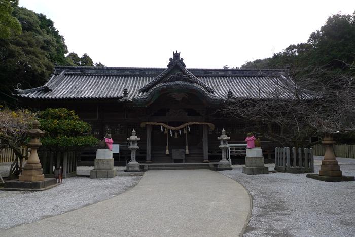 豊後の国の神社  早吸日女神社  16