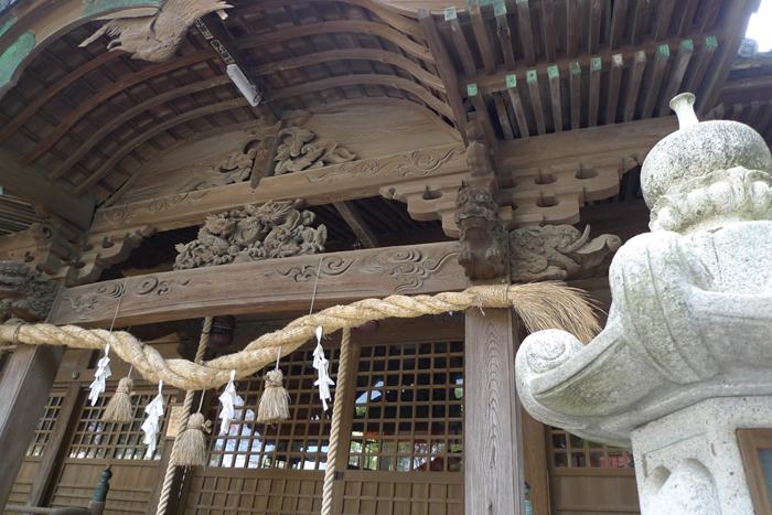 豊後の国の神社  早吸日女神社  25