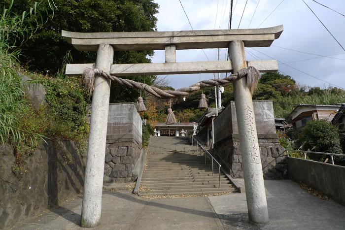 豊後の国の神社  椎根津彦神社  3
