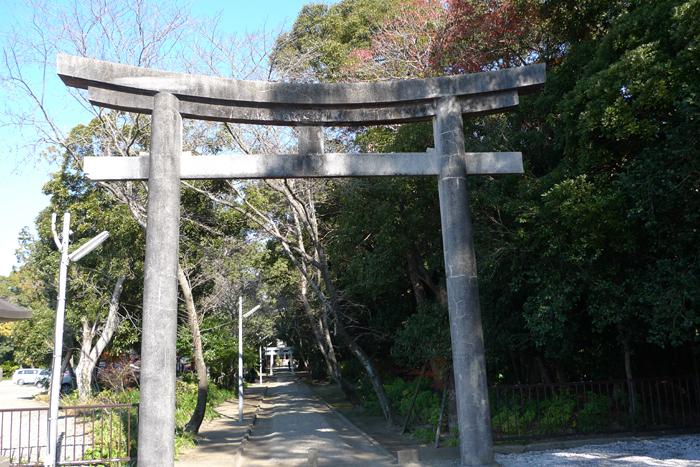 日向の国の神社 江田神社  1