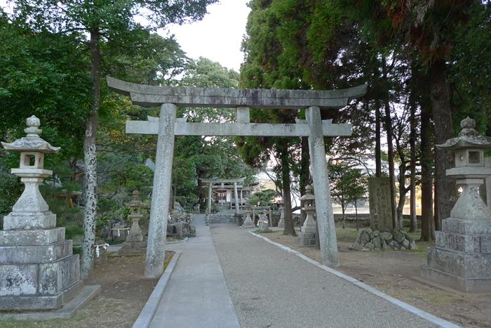 日向の国の神社 立磐神社  2