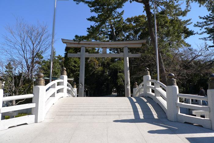 相模の国の神社  寒川神社  1
