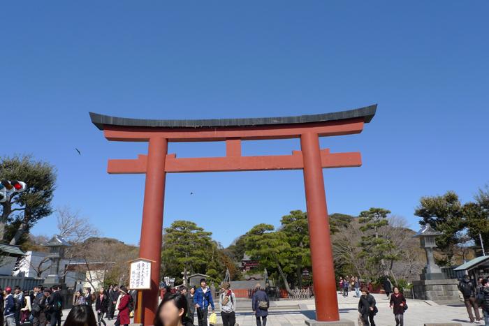 相模の国の神社 鶴岡八幡宮  2