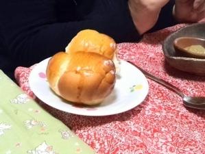 山下さんのバターロール