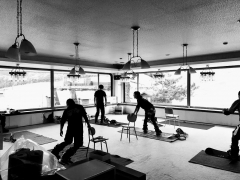 スノーボードトレーニング教室