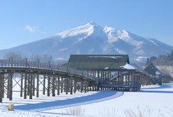 鶴の舞橋冬