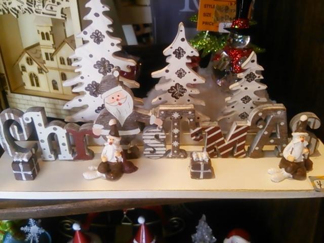 木製クリスマス