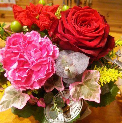 チーフお花