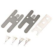 壁に付けられる家具用フック2ピン4脱着工具1付 壁に付けられる家具専用ピン4本セット