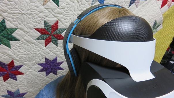 VR装着3