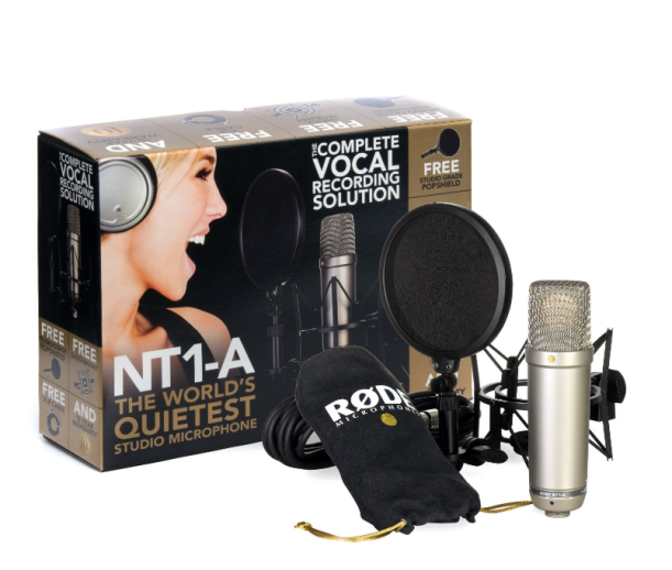 Rode NT1A Anniversary Vocal Condenser Microphone Package1