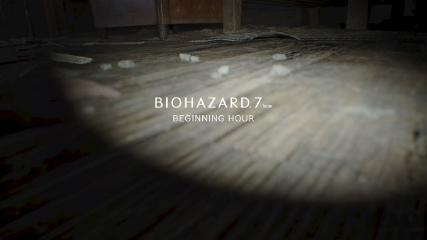 BIOHAZARD 7 TEASER - BEGINNING HOUR タイトル