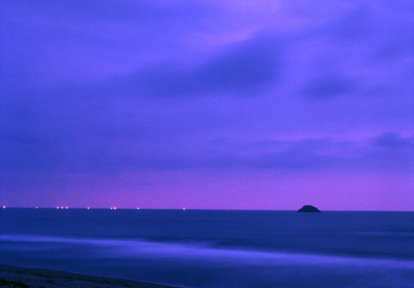 漁火(鳥取砂丘)01
