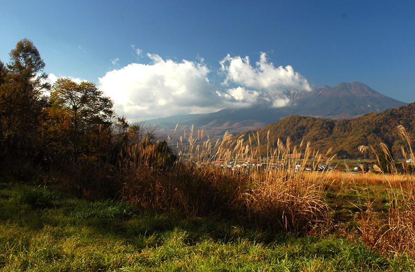 秋景-開田高原01