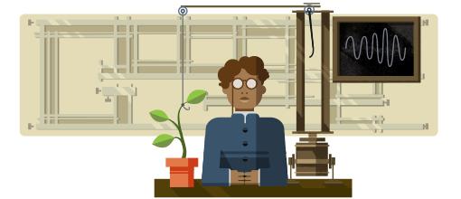 Jagdish Chandra Bose's 158th birthday
