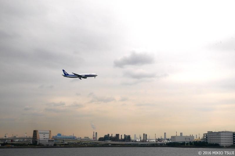 絶景探しの旅-0040 着陸に向かう(羽田空港)