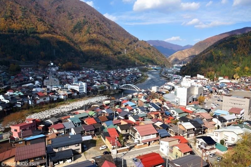 絶景探しの旅-0042 秋の奥飛騨の町 (岐阜県飛騨市神岡)