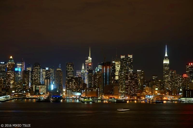 絶景探しの旅 – 0054 ニューヨーク摩天楼の夜景 (マンハッタン)