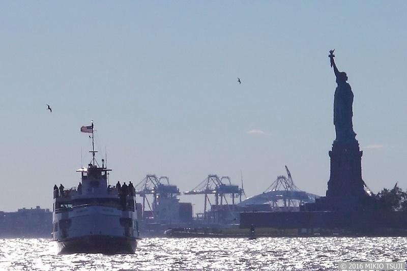 絶景探しの旅 - 0071 自由の女神像 (マンハッタン・バッテリーパーク)